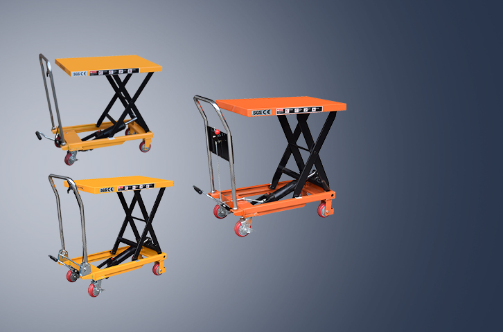 Electric lifting platform