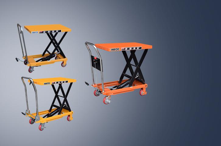 Manual lifting platform