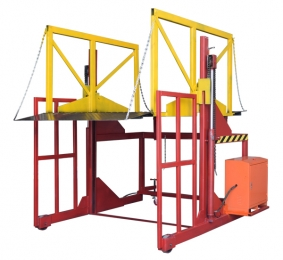 Electric loading platform