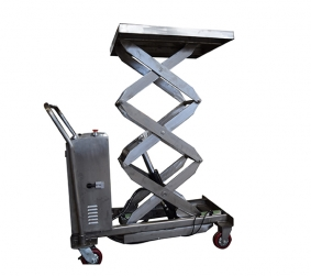 Stainless steel electric platform